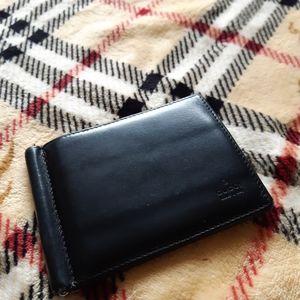 Vintage Gucci cardholder w/ money clip
